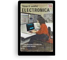 'How It Works': Electronica Canvas Print