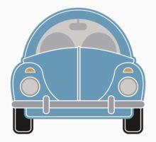 Blue Car by Louise Parton
