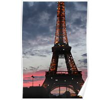 Eiffel Tower. Poster