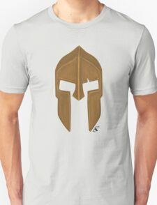 Spartan helmet light bronze Unisex T-Shirt