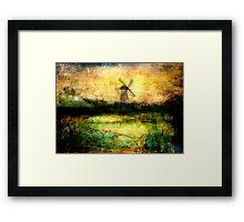 Turning Windmill Framed Print