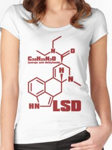 LSD Women's Fitted Scoop T-Shirt
