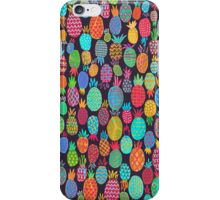 Colorful pineapples  iPhone Case/Skin