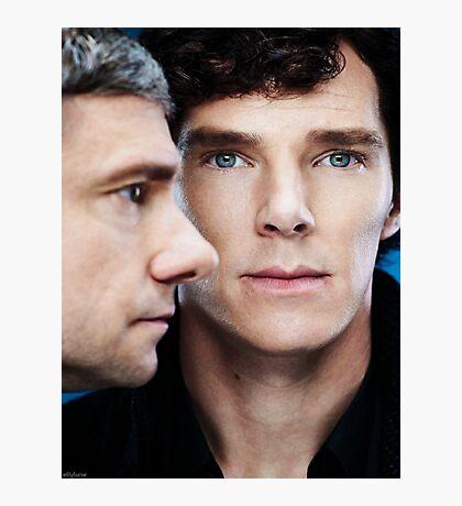 Sherlock and John Photographic Print