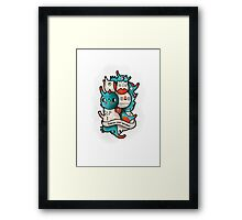 Embrace your weirdness Framed Print
