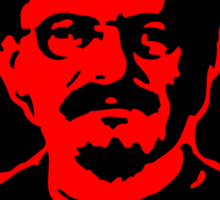 Leon Trotsky Red Star Stickers Sticker