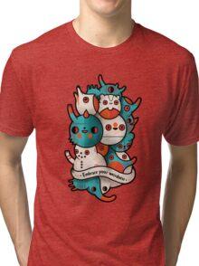 Embrace your weirdness Tri-blend T-Shirt