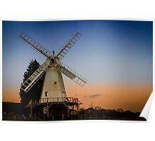 Kentish Smock Mill  Poster