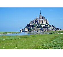 Mont Saint Michel - France Photographic Print
