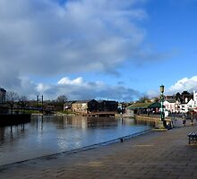 Exeter Quays January 2014 , Devon UK by lynn carter