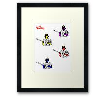 BASEBALL FOUR Framed Print