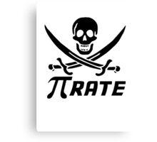 Maths Pirate Canvas Print
