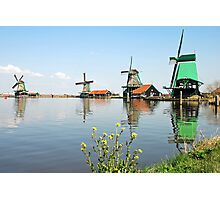 Zaanse schans - Netherlands Photographic Print