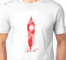 Jack the Ripper - London Big Ben Design Unisex T-Shirt