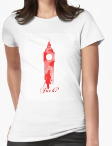 Jack the Ripper - London Big Ben Design Womens Fitted T-Shirt