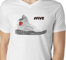 #FIVE Mens V-Neck T-Shirt
