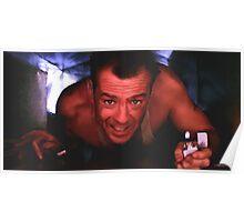 Bruce Willis in the film Die Hard Poster