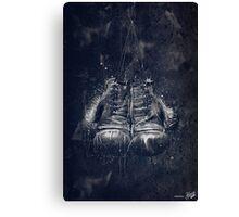 DARK GLOVES Canvas Print
