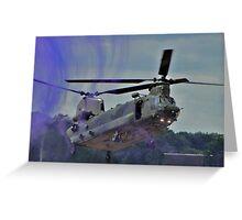 RAF LZ Departure Greeting Card