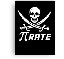 Maths Pirate. Canvas Print