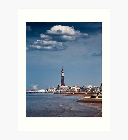 Blackpool Tower Art Print