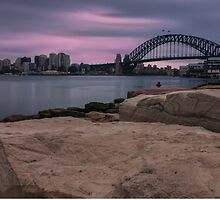 Sydney Harbour Sunrise by Toni McPherson