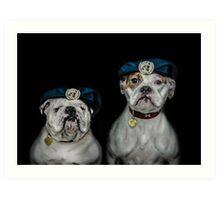 War Dogs (Peacekeepers) Art Print