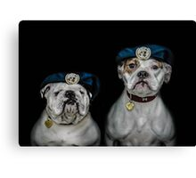 War Dogs (Peacekeepers) Canvas Print