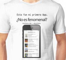 LibrosFenomenales: Mi primera App Unisex T-Shirt