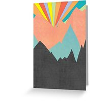 The Sun Rises on Planet X - 2 Greeting Card