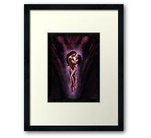 """Lovers"" Artwork by CHARRO Framed Print"