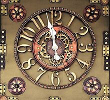 Steampunk Timepiece by Artisimo