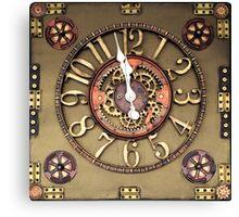 Steampunk Timepiece Canvas Print