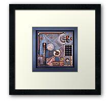 Steampunk Prototype Framed Print