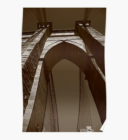 Brooklyn Bridge - New York City Poster