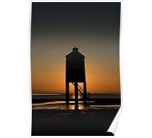 Glowing Lighthouse Poster