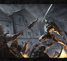"""""""Swords Storm"""" Artwork by CHARRO by CHARROART"""