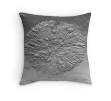 Chromed Seedhead Throw Pillow