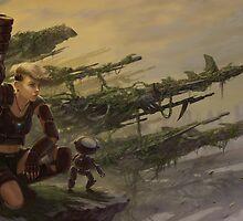 Lone Soldier by CHARRO by CHARROART