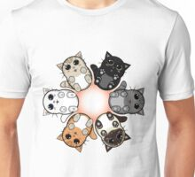 Kitty Circle Unisex T-Shirt