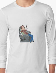 Doctor Rush and The Chair Long Sleeve T-Shirt