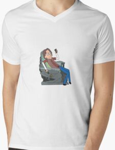 Doctor Rush and The Chair Mens V-Neck T-Shirt