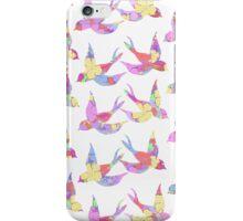 Floral Birds iPhone Case/Skin