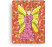 Love Angel Canvas Print