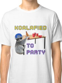 Koalafied to Party Classic T-Shirt