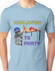 Koalafied to Party Unisex T-Shirt