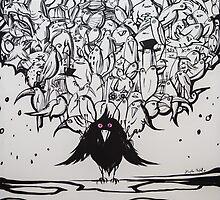 The Birds by Magda Rytel by ArtBattles