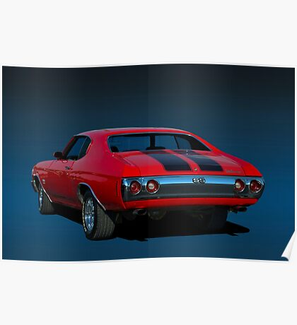 1970 Chevelle SS 454 Poster