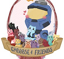Caboose & Friends by sonnibun