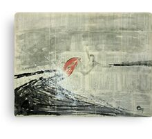 Chronicle of surfing.  Canvas Print